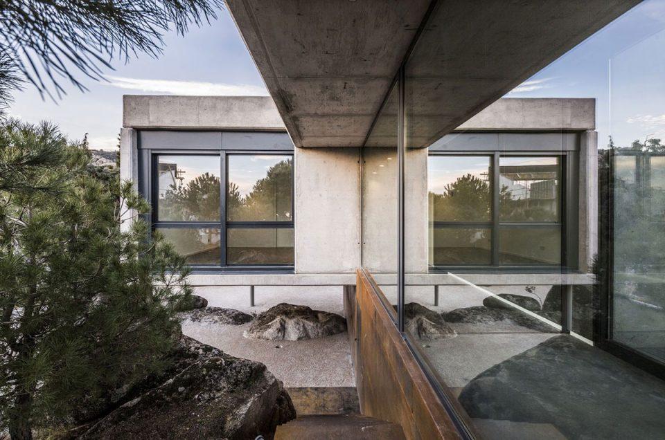 Construcción de viviendas unifamiliares en Madrid